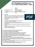 Plan Monitoreo Tutoria 2018