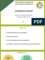 1-canalización venosa