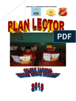 Plan Lector 2018 Seoane
