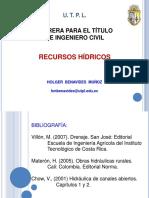 Clase 07 HIDRÁULICA Drenajes