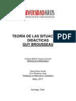 Informe Situaciones Didacticas (Brosseau)