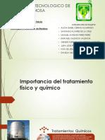 Tratamientos Fisicos y Quimicos