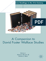[American Literature Readings in the 21st Century] Marshall Boswell, Stephen J. Burn (Eds.) - A Companion to David Foster Wallace Studies (2013, Palgrave Macmillan US)