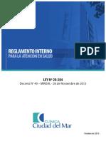 Reglamento Interno Atencion en Salud Ccdm