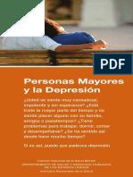 depresión en las personas mayores