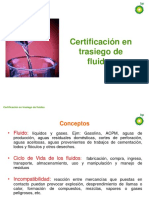 Certificación en Trasiego de Fluidos