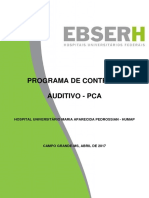 3 - Programa de Controle Auditivo - Pca