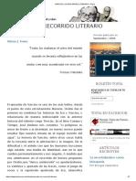 Narciso, Un Recorrido Literario _ Topía