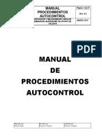 LN, 2010 - Manual Procedimientos Autocontrol