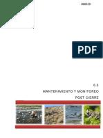 6 Mantenimiento Monitoreo Post Cierre (1)