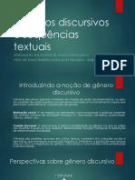 Aula 02-03 - Gêneros Discursivos e Sequências Textuais - 2015