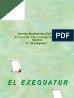 EL_EXEQUATUR.ppt