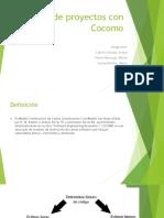Costo de Proyectos Con Cocomo