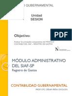 Modulo Contable Del Siaf – Registro de Gastos