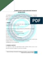 Reglamentacion Para Piletas de Hidroterapia