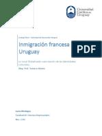 Inmigración Francesa en Uruguay - Lucía Oholeguy, Nov. 2016