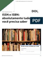 DOI, ISSN e ISBN - Absolutamente Tudo o Que Você Precisa Saber