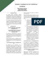 Gestion Estandares y Normas de Los Controles Internos