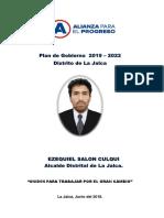 Plan de Gobierno La Jalca Ok