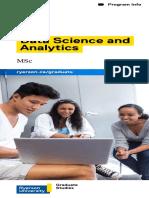 Ryerson MSc-YSGS Data Science Web