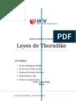 Monografia de Thondike