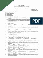 Sample Paper for Nift-Design