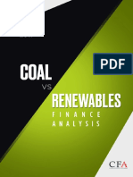 India 2017 Coal vs Renewable Report