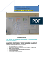 Caracterìsticas de La Evaluaciòn Formativa