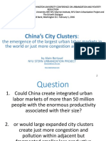 China City Clusters Bertaud