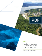 2018 Hydropower Status Report
