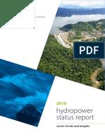 2018 Hydropower Status Report