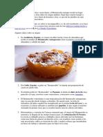 Recetas Dulce Bienmesabe