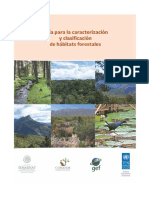 Guia Para Caracterización y Clasificación de Habitats