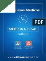 Medicina Legal (eBook-Aula 01)