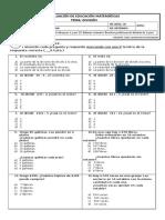 Evaluación División 4