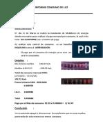 Informe Consumo de Luz 07-05-2015