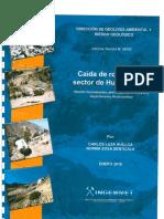 4549 Informe Tecnico n0 a6702 Caida de Rocas en El Sector de Huamantambo Provincia Castrovirreyna