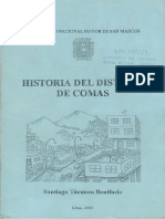 Historia Del Distrito de Comas
