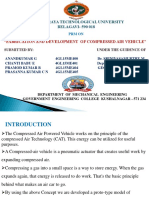 Compressed Air Vehicle Ppt 2018