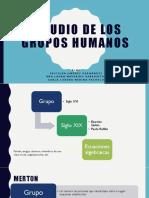 Estudio de Los Grupos Humanos