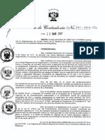 Resolución de Contraloría RC 141 2017 CG