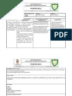 Formato plan de aula TIC