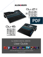 Qu Mixer User Guide AP9372 2