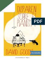 Disparen Sobre El Pianista - David Goodis