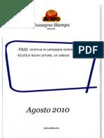 ADOC - Rassegna stampa Agosto 2010