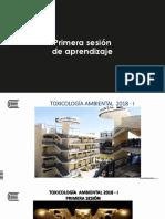 1. PRIMERA SESIÓN TEÓRICA DE TOXICOLOGÍA. 20018 - I.pdf