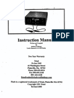 Triad Mini Flash Tack Welder Instruction Manual
