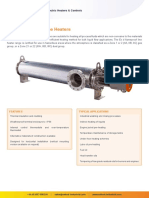 Datasheet-flameproof Heaters for Water