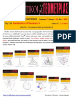 120 Geometry Exercises by Romantics of Geometry Vol.1, Issues 01-10