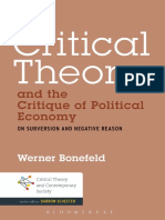 (Critical theory and contemporary society) Bonefeld, Werner-Critical theory and the critique of political economy _ on subversion and negative reason-Bloomsbury Academic (2014).pdf